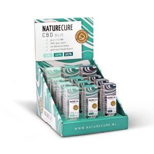 Nature Cure CBD display